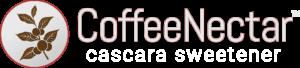 CoffeeNectar Logo (White) Web v5