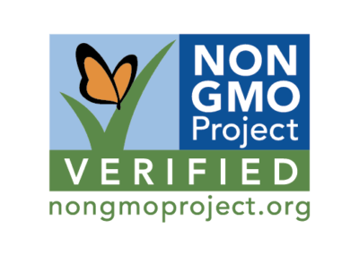 This ingredient has been verified by the Non-GMO Project not to contain genetically modified material.